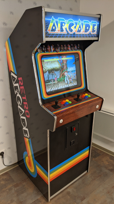 Borne d'Arcade Rétro