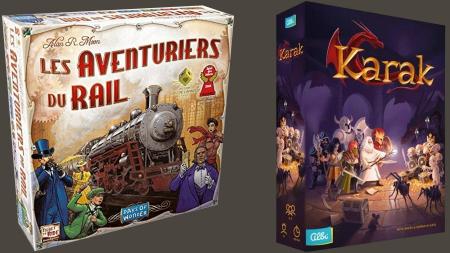Les Aventuriers du Rail & Karak