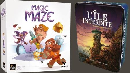 Magic Maze & L'Ile Interdite