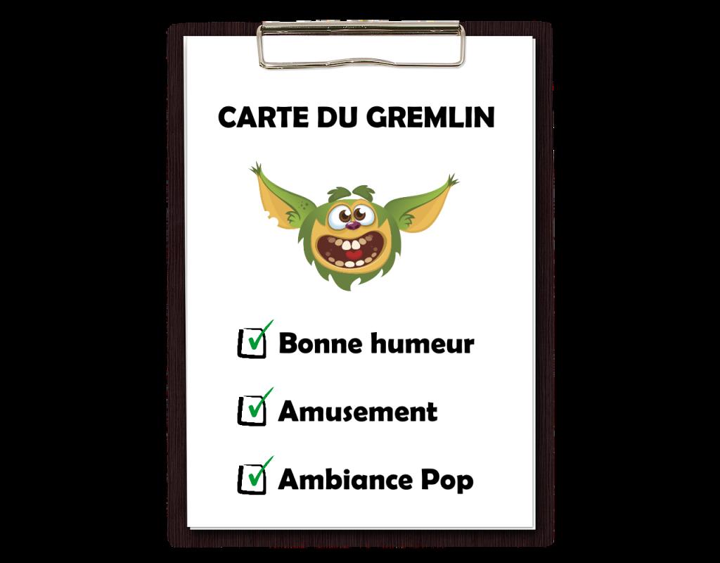 Carte du Gremlin
